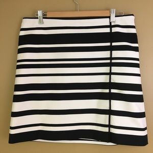 WHBM Black & White Skirt